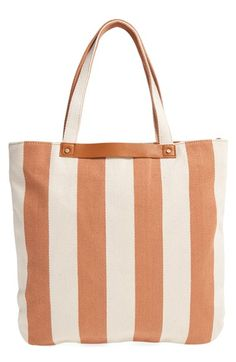 cd1895ae87d Street Level Stripe Tote available at  Nordstrom Summer Stripes, Striped  Style, Stripes Fashion