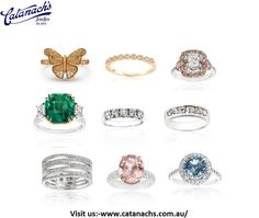 Browse through a wide range of beautifully handcrafted pure pearl and perfect diamond wedding rings Australia at Catanach's Jewellers. Get the most unique jewellery.Catanach's philosophy is to create your dream, leaving no stone unturned to acquire or create the perfect piece, handmade by our jewellers to be uniquely yours.
