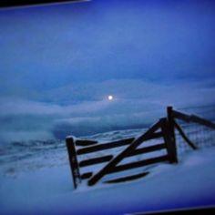 Fyste snøen i Svult