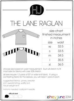 Lane Raglan - Hey June