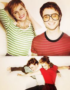 Hermione and Harry!