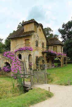 France. Versailles. Hameau de la Reine   Flickr - Photo Sharing!  - rustic retreat built for Marie Antoinette in 1783