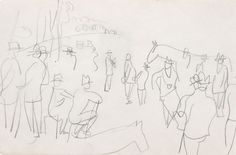 Raoul Dufy, Untitled, ca. 1950