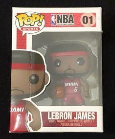 Funko Pop NBA 01 Lebron James Miami Heat 6 Vinyl Figure for sale online Lebron James Miami Heat, Nba Miami Heat, Funko Pop, Nba Tickets, Nba Live, Nba Sports, Live Events, Vinyl Figures, Basketball