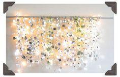 Alternative altar : mirrors & white light