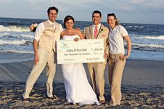 Rox Beach Weddings owners Sean & Cassandra Rox present this Lucky Couple with a Free Beach Wedding in Ocean City, MD.  Watch the Surprise:  http://www.youtube.com/watch?v=DX873vZnMN8&list=UU-P2lK0dtBUrQNHA4qpe4WQ