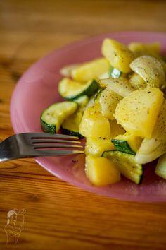 Kartoffel-Zucchini-Fenchel Pfanne