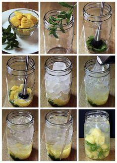 Águas com sabor, ou águas aromatizadas, são deliciosas, charmosase não engordam! Estou com mania de tomar águas com um...