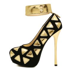 HOT SALE FLOCK High heels Womens Bridal Dress Sexy High Heel Shoes Platform Sexy Stiletto Heels