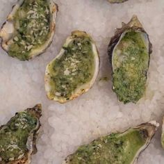 Oysters Rockefeller - we suggest using Kusshi oysters and really, really good Parmingian-Reggiano and butter