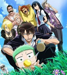 Beelzebub - Furuichi, Baby Beel, Oga, Hilda, Alaindelon, Hajime, Forgot His Name, Aoi, & Tatsuya