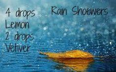 Rain Showers  Essential oil blend