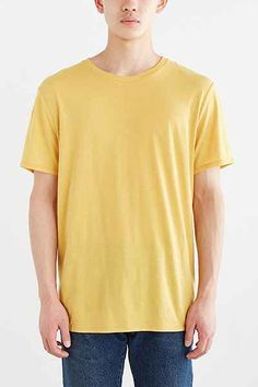 BDG Standard-Fit Crew Neck Tee - Urban Outfitters