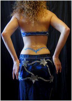 """le ciel au creux des reins... par Yael :""""le henné Version élégance"""" pouryael@hotmail.com"""