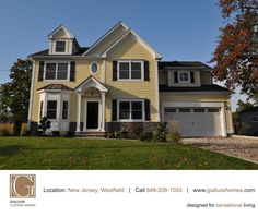 """The warm yellow of late summer... #NewJersey #GCH #HomeBuilders"""