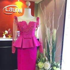 K African Lace Styles, African Dresses For Women, African Print Dresses, African Attire, African Women, African Fashion, Lace Skirt And Blouse, Lace Dress, Beautiful Dresses