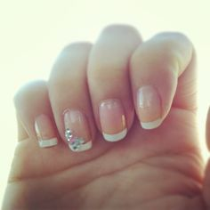 French tip with a Bow