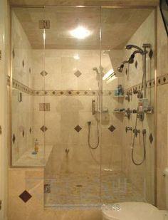 Frameless Shower Doors Steam Shower