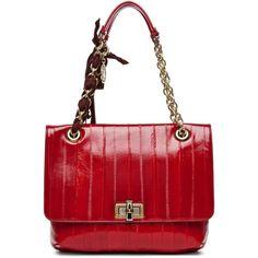 ca523903d87e Lanvin Happy Medium Shoulder Bag in Red Shades