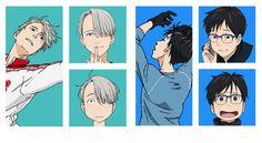 yuri on ice, yuri on ice season 2 Katsuki Yuri, Decoden, Yuri On Ice, Anime, Seasons, Fictional Characters, Art, News, Art Background