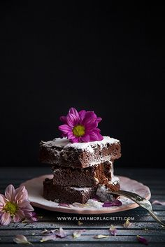 Delicious brownies ~ Food Photography ~ www.flaviamorlachetti.com