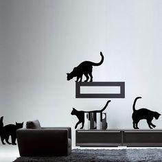 Adoptez cette bande de chats afin de décorer votre intérieur !