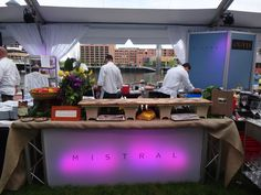 Mistral's table display!