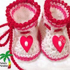 patternparadise crochet booties