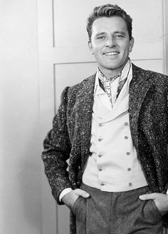 Young Richard Burton....OMG...what a looker he was!
