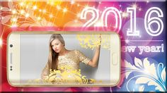 Happy New Year 2016 Photo Frames Images
