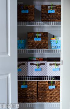 Medicine Cabinet Organization With Free Printables