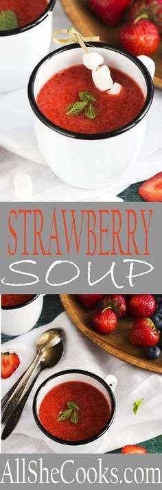 Strawberry Soup reci