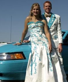 DUCK TAPE - Stuck at Prom contest 2012 - runner up winners - clothing, accessories and car!