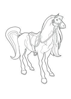 horseland ausmalbilder. malvorlagen zum ausdrucken