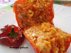 Los pimientos rellenos de arroz es un plato típico de la comunidad valenciana en concreto de las comarcas centrales entre las provincias...