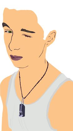 This is a Vector portrait I am currently working on. It is of my boyfriend Jeremy♥ Hehehe, I am not done, but I am planning to give it to him afterwards♥    #Comment Please