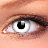 White Contact Lenses | White Coloured Contact Lenses | Halloween Contact Lenses