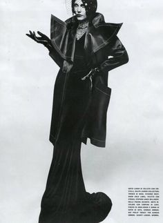 grand chic: aymeline valade by solve sundsbo for vogue italia july 2012 Grey Fashion, Fashion Models, High Fashion, Autumn Fashion, Fashion Design, French Models, Dressed To The Nines, Vogue Magazine, Vivienne Westwood