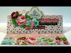 Kaisercraft Card Creations Dies - Butterfly Card Flip