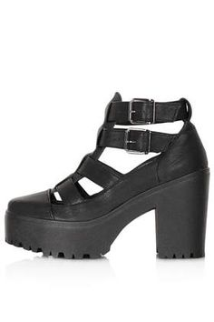 ARCADE Cut Out Chunky Boots. Own these with the smaller platform and i'm never without them!!
