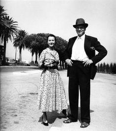 Vivien Lee and Laurence Olivier