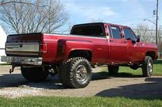 Nice Lifted Crew Cab Dually @Amber Haugen