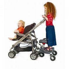 Kid Board Pick Up - Plataforma para Passeio no Carrinho do Bebê com Opção de Sentar