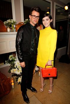 Dukes of Melrose Launch Party - Brad Goreski and Isabelle Fuhrman