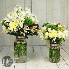 This arrangementis made of locally grown, seasonal flowersand…