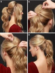 amazing easy and quick hairstyles for school or work - Amazing Simple And Fast Hairstyles For School Or Work # - Try Different Hairstyles, Quick Hairstyles For School, Office Hairstyles, Easy Hairstyles For School, Fast Hairstyles, Little Girl Hairstyles, Simple Hairstyles, Beautiful Hairstyles, Everyday Hairstyles