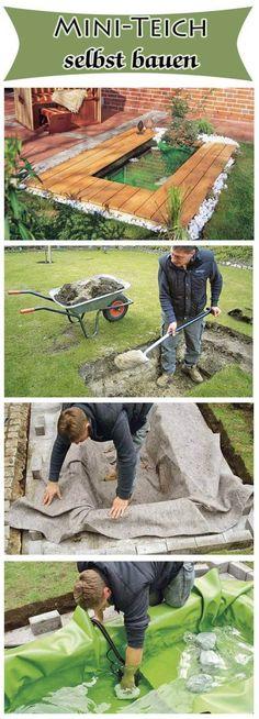 Gartendeko aus Beton selbstgemacht-wasserbrunnen-blatter Garten - gartendeko aus beton selbstgemacht