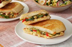 Spicy Poblano Pepper & Cheese Tortas