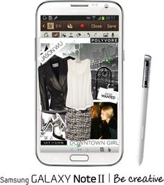 """""""Create a Downtown Muse look for a chance to win a Samsung GALAXY Note II!"""" by annmarie0697 ❤ liked on Polyvore"""