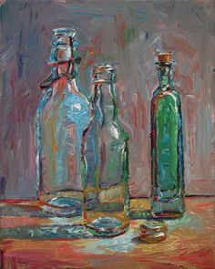 Raymond Logan's Dailies: Three Bottles and Cap